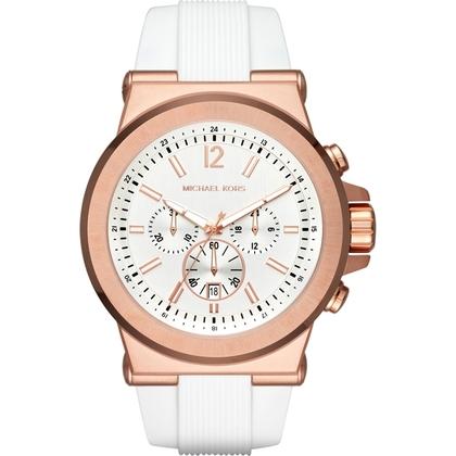 Michael Kors MK8492 Horlogeband Wit Rubber