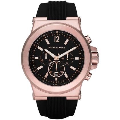 Michael Kors MK8184 Horlogeband Zwart Rubber