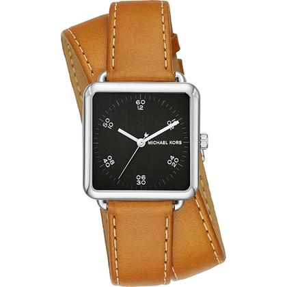 Michael Kors MK2571 Horlogeband Bruin Leer