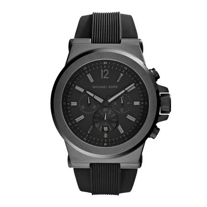 Michael Kors MK8152  Horlogeband Zwart Rubber