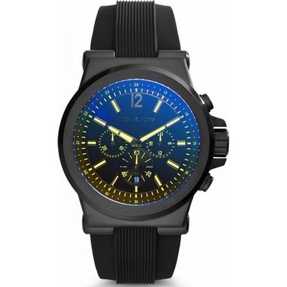 Michael Kors MK8406 Horlogeband Zwart Rubber