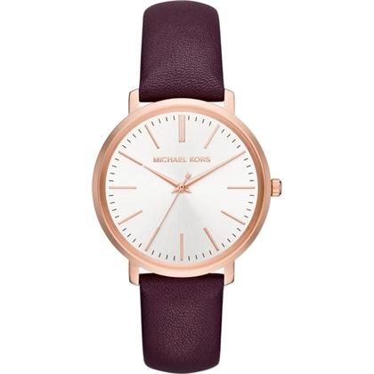 Michael Kors MK2605 Horlogeband Paars Leer