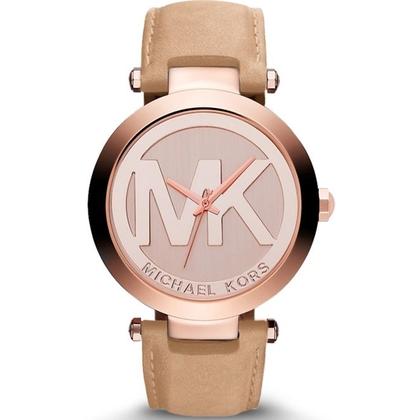 Michael Kors MK2399 Horlogeband Beige Leer