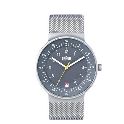 Braun BN0082GYSLMHG horlogeband Mesh (Milanese)