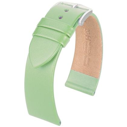Hirsch Fashion Italiaans Nappa Kalfsleer Horlogebandje Appel
