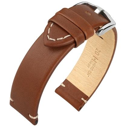 Hirsch Ranger Horlogebandje Kalfsleer Bruin