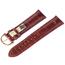Maurice Lacroix Horlogeband Mississippi Alligator Cognac 20mm