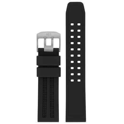 Luminox 8050 8150 8250 8350 Series Horlogeband Zwart Rubber - FP.8050.20