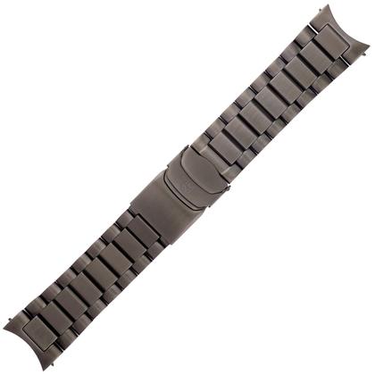 Luminox Field 1820, 1840 Series Horlogeband IP Zwart Roestvrij Staal