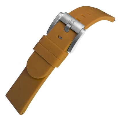Marc Coblen / TW Steel Silicone Horlogeband Camel 22mm