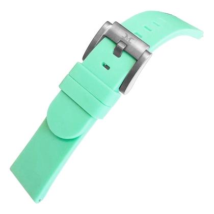 Marc Coblen / TW Steel Silicone Horlogeband Pastel Groen 22mm