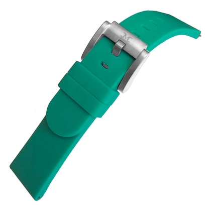 Marc Coblen / TW Steel Silicone Horlogeband Petrol 22mm