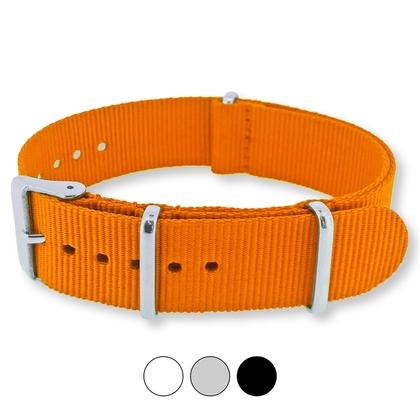 Orange NATO G10 Military Nylon Strap