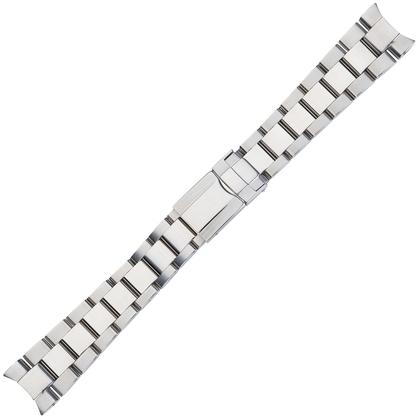 Oyster Horlogeband 'type Rolex' Roestvrij Staal 20mm