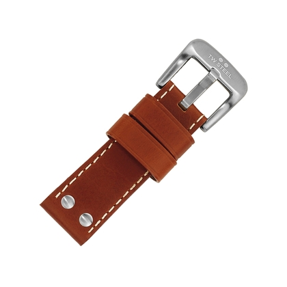 TW Steel HALF en EXTRA KORT Horlogebandje - Bruin 22mm