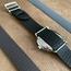 Eulit Perlon Horlogeband Kristall Zwart - Gouden Gesp