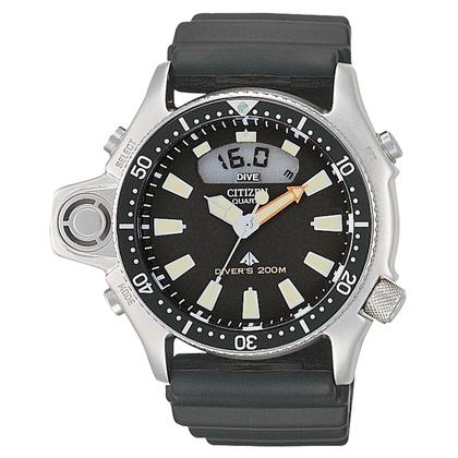 Citizen Promaster JP2000-08E Horlogeband Zwart - 24mm