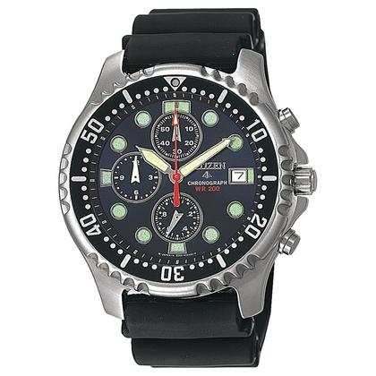 Citizen Promaster AN1130-01E Horlogeband Zwart - 20mm