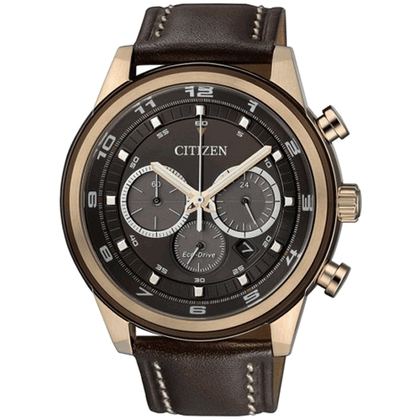 Citizen Eco-Drive Chronograph CA4037-01W Horlogeband 22mm