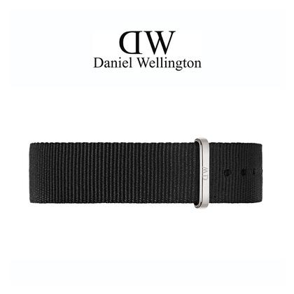 Daniel Wellington 20mm Classic Cornwall NATO Horlogebandje Stalen Gesp